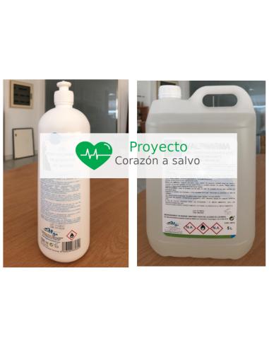 Gel desinfectante hidroalcohólico 5...