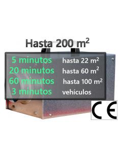 Ozono ECO 4000 V hasta 200 m2