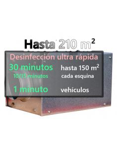 Ozono P 8000 Turbina hasta 210 m2